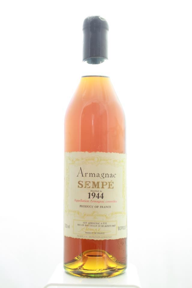 Sempé Armagnac 1944
