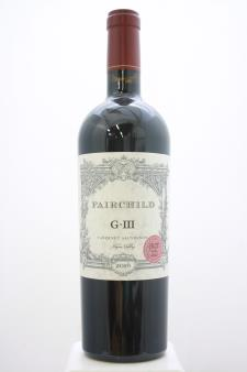 Fairchild Estate Cabernet Sauvignon Georges III Vineyard GIII 2016
