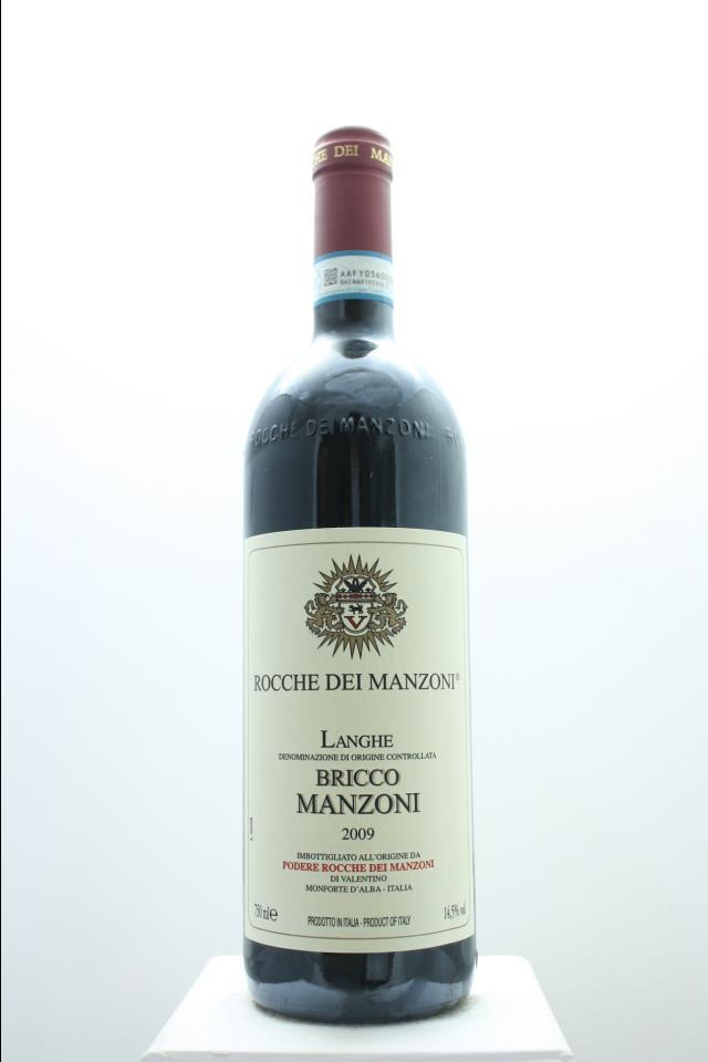 Rocche dei Manzoni Langhe Rosso Bricco Manzoni 2009