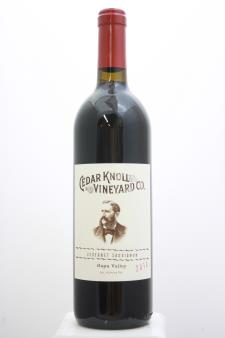 Cedar Knoll Vineyard Cabernet Sauvignon 2014
