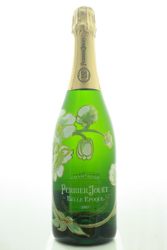Perrier-Jouët Fleur de Champagne Cuvée Belle Epoque Brut Ice Bucket Gift Set 2007