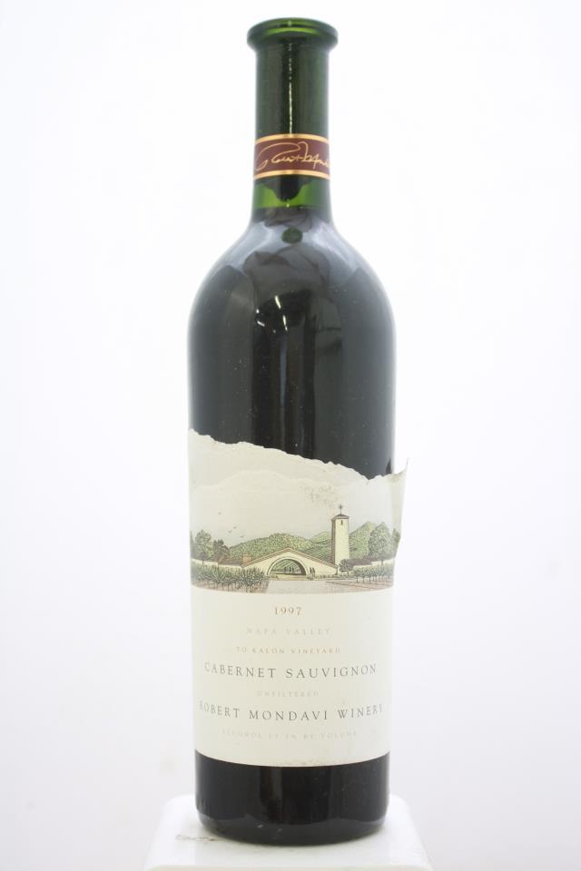 Robert Mondavi Cabernet Sauvignon To Kalon Vineyard 1997