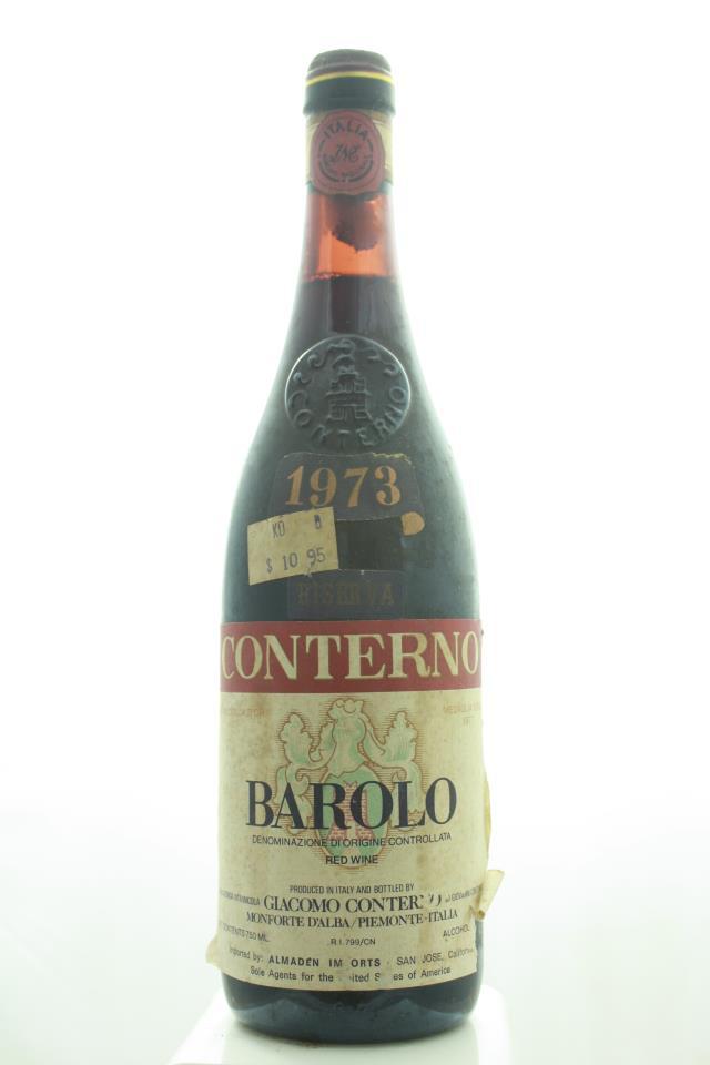 Giacomo Conterno Barolo Riserva 1973