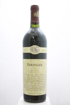 Beringer Vineyards Cabernet Sauvignon Private Reserve 1995
