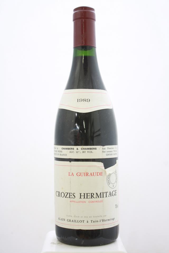 Alain Graillot Crozes-Hermitage La Guiraude 1989