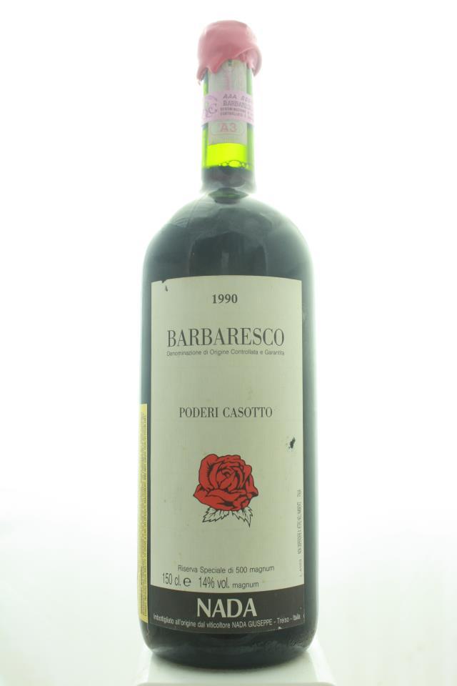 Giuseppe Nada Barbaresco Riserva Speciale Poderi Casotto 1990