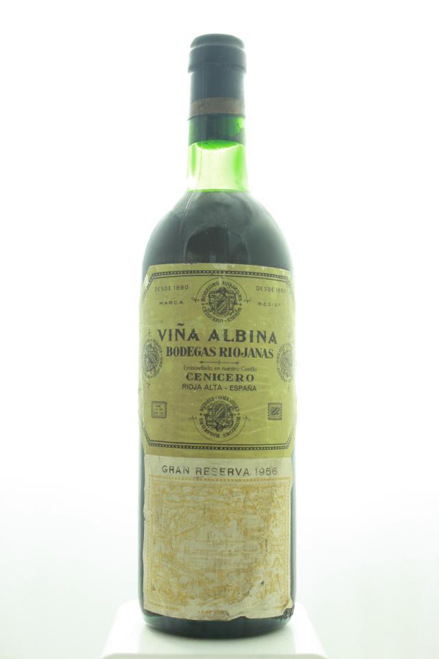 Bodegas Riojanas Rioja Gran Reserva Viña Albina 1956