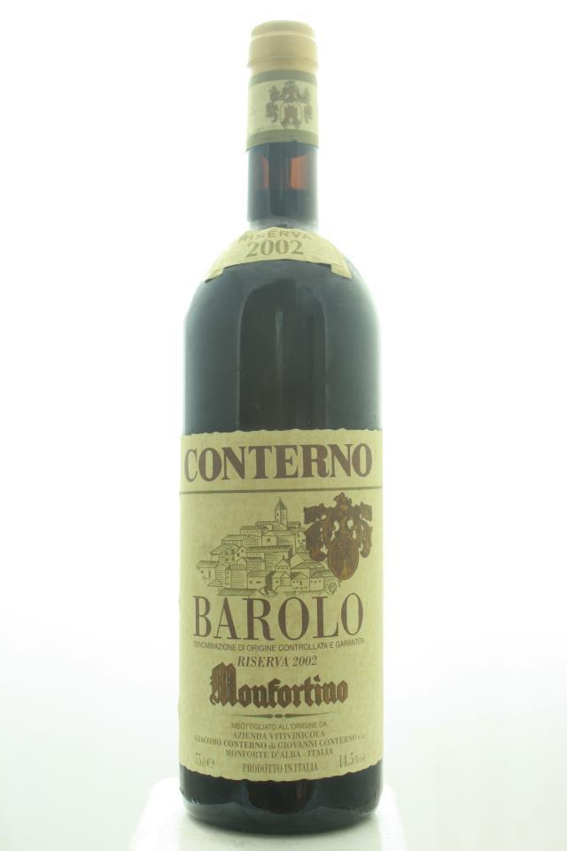 Giacomo Conterno Barolo Riserva Monfortino 2002