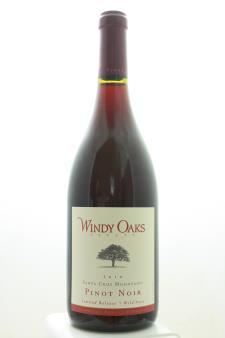 Windy Oaks Estate Pinot Noir Schultze Family Vineyard Limited Release Wild Yeast 2010