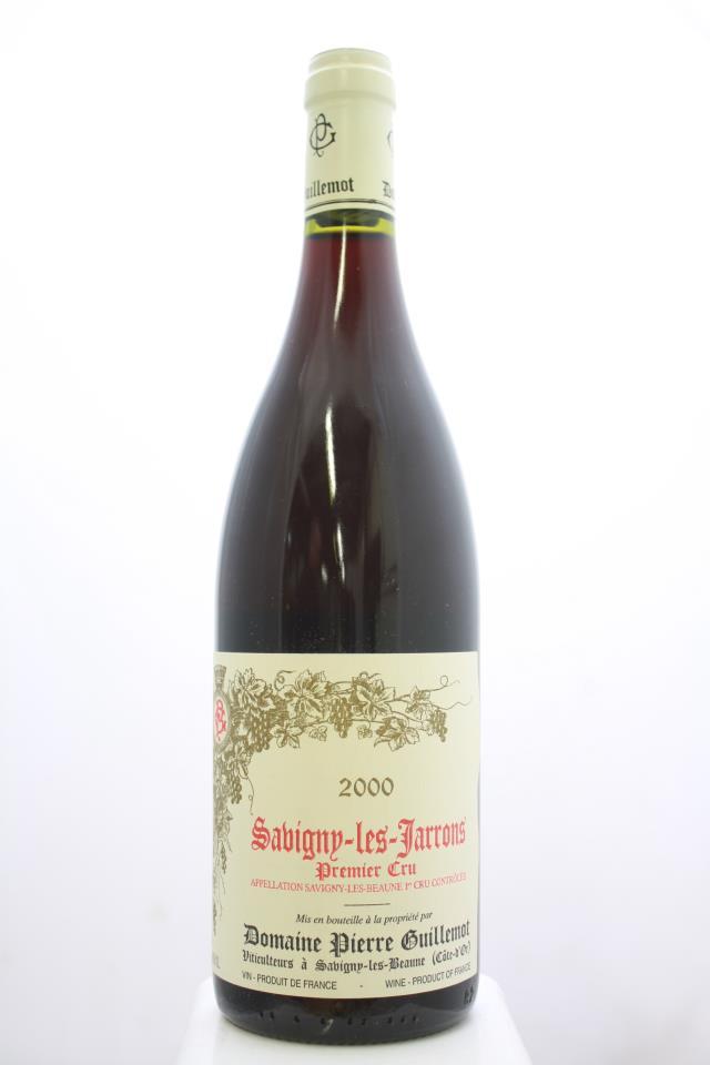 Pierre Guillemot Savigny-Les-Beaune Les Jarrons 2000