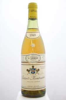 Domaine Leflaive Bâtard-Montrachet 1969
