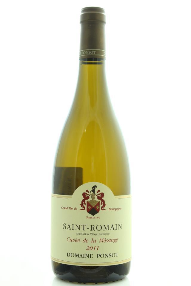 Domaine Ponsot Saint-Romain Cuvée de la Mésange 2011