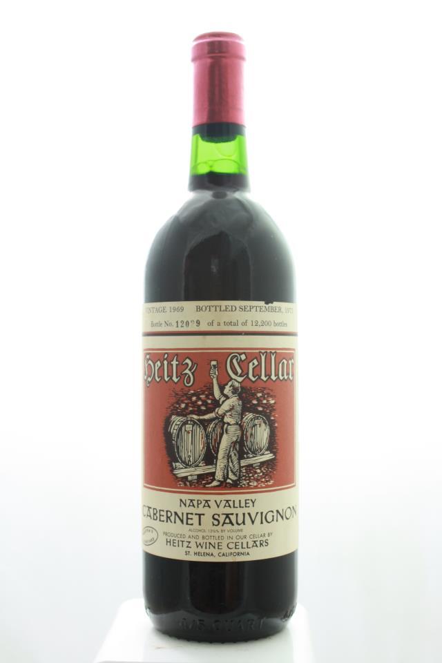 Heitz Cellar Cabernet Sauvignon Martha's Vineyard 1969