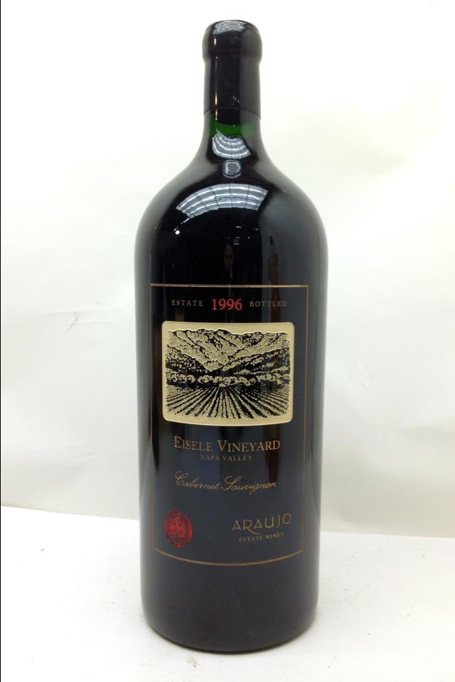 Araujo Estate Cabernet Sauvignon Eisele Vineyard 1996