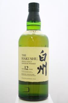 The Hakushu Single Malt Japanese Whisky 12-Year-Old NV