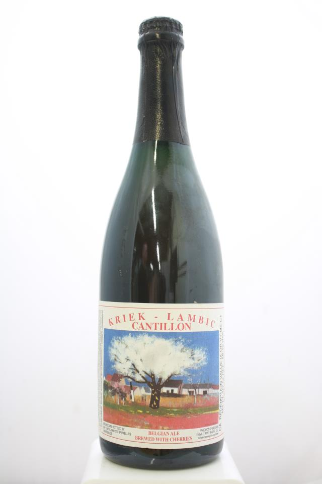 Brasserie Cantillon Belgian Ale Kriek Lambic Brewed With Cherries NV
