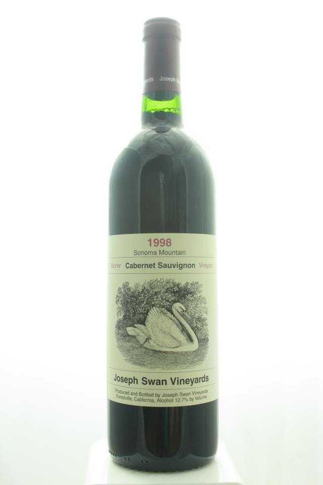 Joseph Swan Cabernet Sauvignon Joseph Steiner Vineyard 1998
