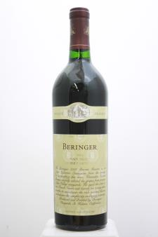 Beringer Vineyards Cabernet Sauvignon Private Reserve 2001