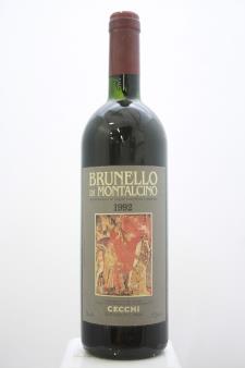 Cecchi Brunello di Montalcino 1992