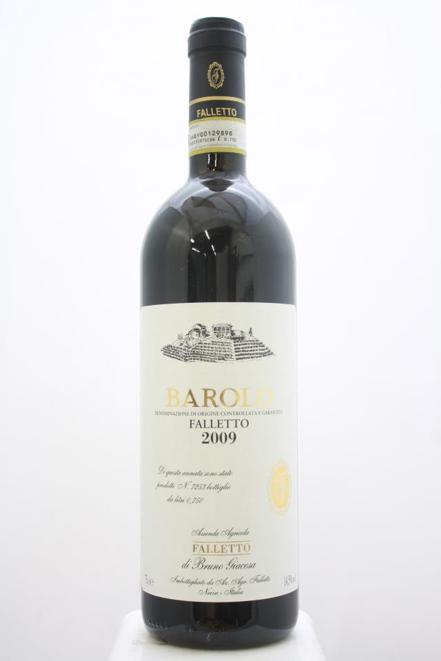 Bruno Giacosa Barolo Falletto 2009
