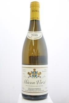 Domaine Leflaive Mâcon-Verzé 2010