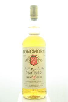 Longmorn & Macphail Distillery Single Speyside Malt Scotch Whisky 12-Years-Old NV