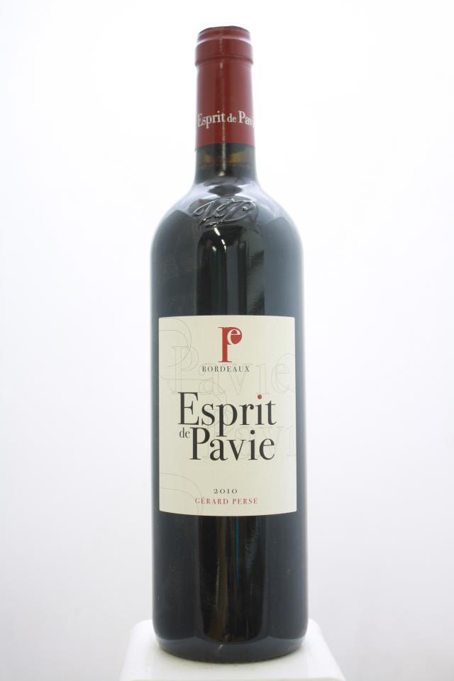 Esprit de Pavie 2010