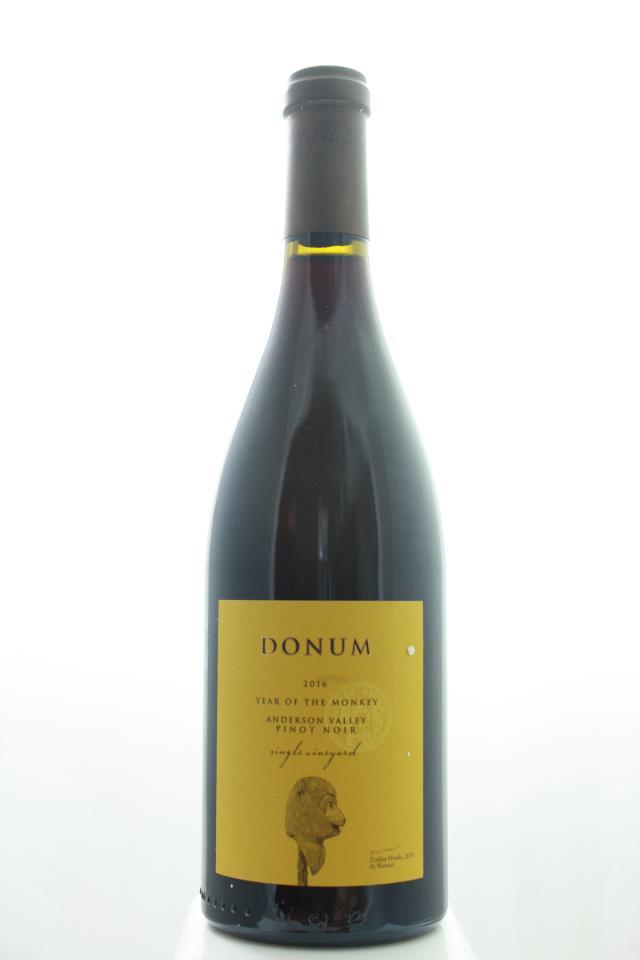 Donum Pinot Noir Single Vineyard Year Of The Monkey 2016