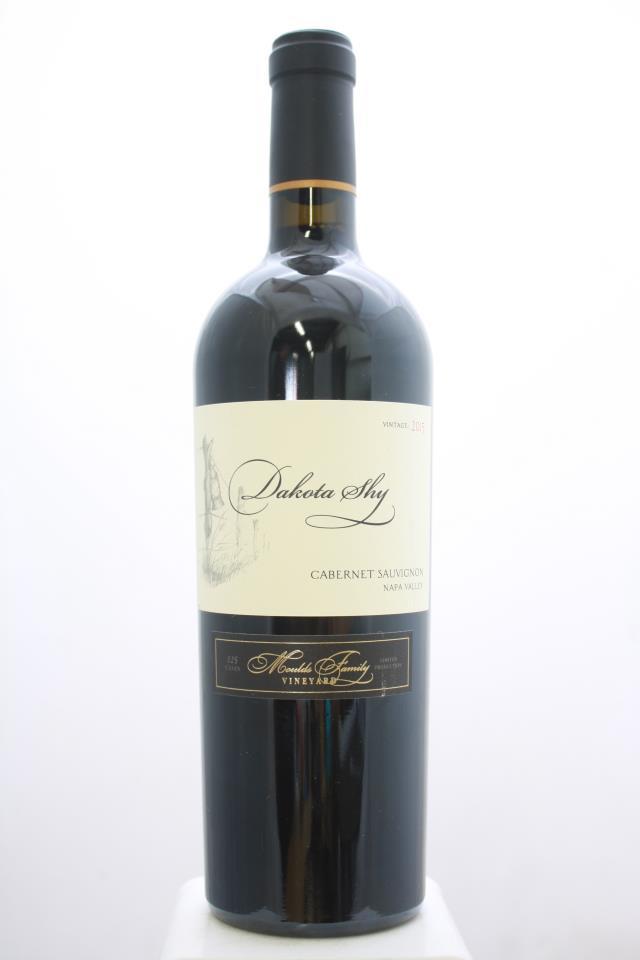 Dakota Shy Cabernet Sauvignon Moulds Family Vineyard 2015