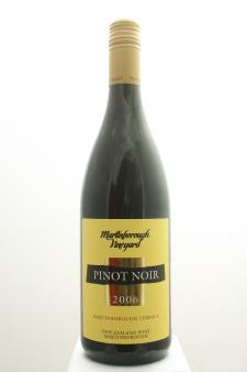 Martinborough Vineyard Pinot Noir Martinborough Terrace 2006