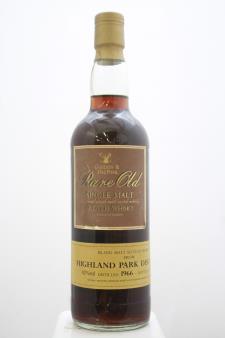 Highland Park Gordon & MacPhail Single Malt Scotch Whisky Rare Old 1966