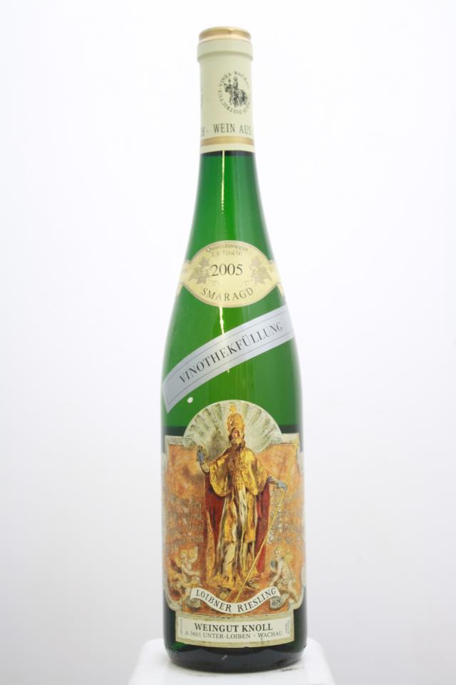 Knoll Loibner Riesling Vinothekfullung Smaragd 2005