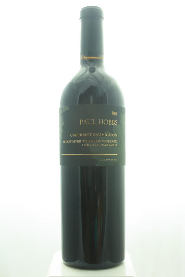 Paul Hobbs Cabernet Sauvignon Beckstoffer To Kalon Vineyard 2008