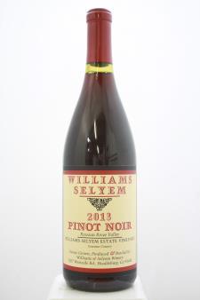 Williams Selyem Pinot Noir Williams Selyem Estate Vineyard 2013