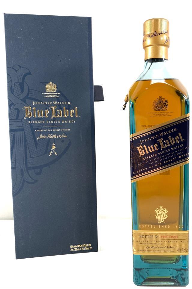 Johnnie Walker Blended Scotch Whisky Blue Label NV