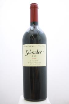 Schrader Cabernet Sauvignon Beckstoffer To Kalon Vineyard RBS 2010