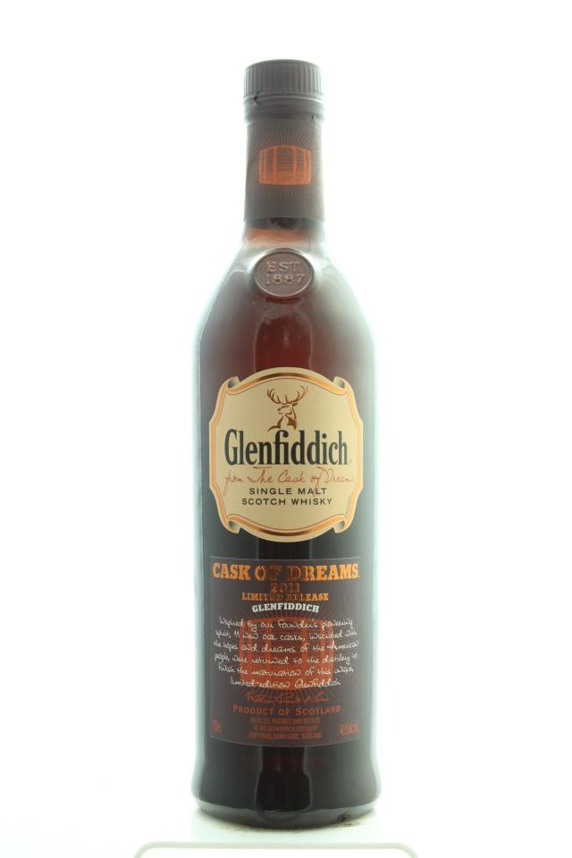 Glenfiddich Single Malt Scotch Whisky Cask of Dreams 2011 Limited Release NV