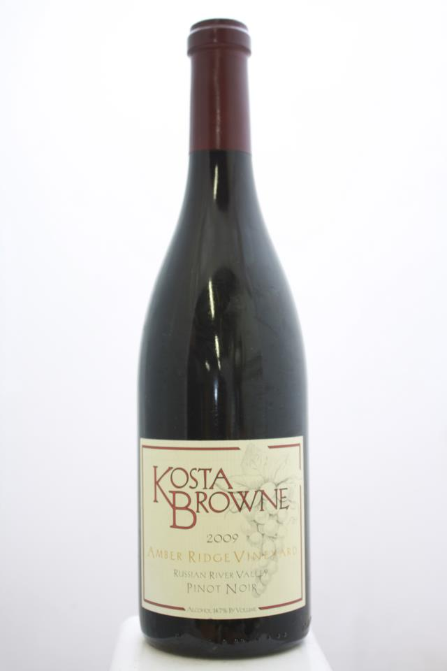 Kosta Browne Pinot Noir Amber Ridge Vineyard 2009