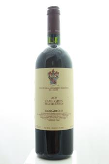 Marchesi di Gresy Barbaresco Camp Gros Martinenga 2000