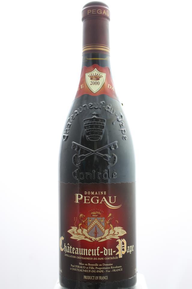 Domaine du Pégau Châteauneuf-du-Pape Cuvée da Capo 2000
