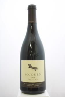 Sojourn Pinot Noir Sangiacomo Vineyard 2014