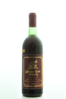Yakima River Winery Cabernet Sauvignon WineMakers Special Selection 1980