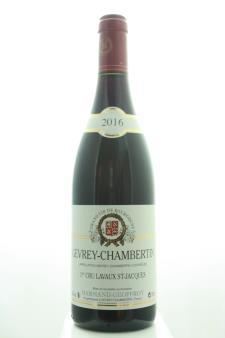 Harmand-Geoffroy Gevrey-Chambertin Lavaux Saint-Jacques 2016