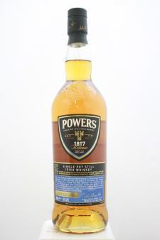 Powers Single Pot Still Irish Whiskey 1817 Release NV