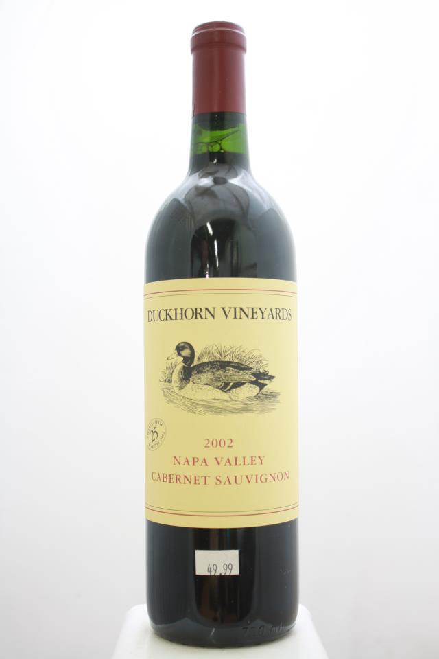 Duckhorn Cabernet Sauvignon Napa Valley 2002
