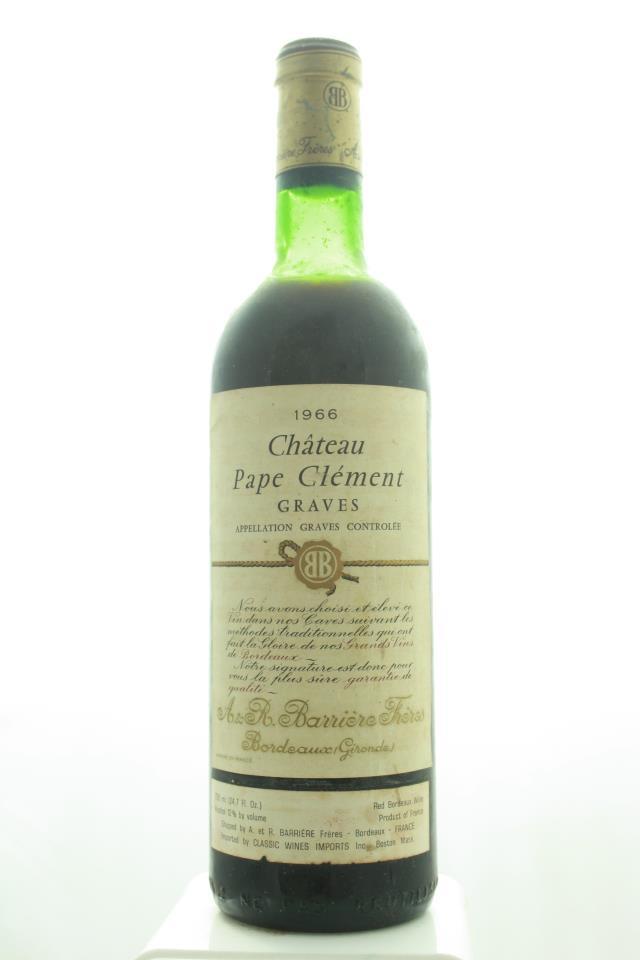 Pape Clément Rouge 1966