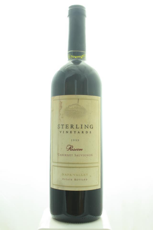 Sterling Vineyards Cabernet Sauvignon Reserve 1999