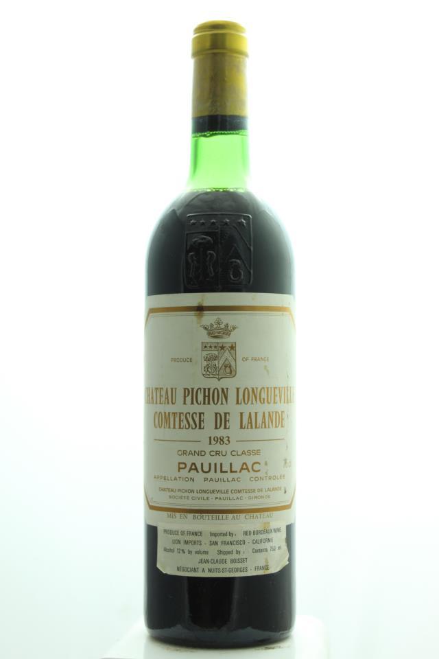 Pichon-Longueville Comtesse de Lalande 1983