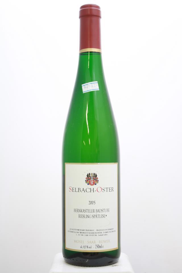 Selbach-Oster Bernkasteler Badstube Riesling Spätlese * #32 2005