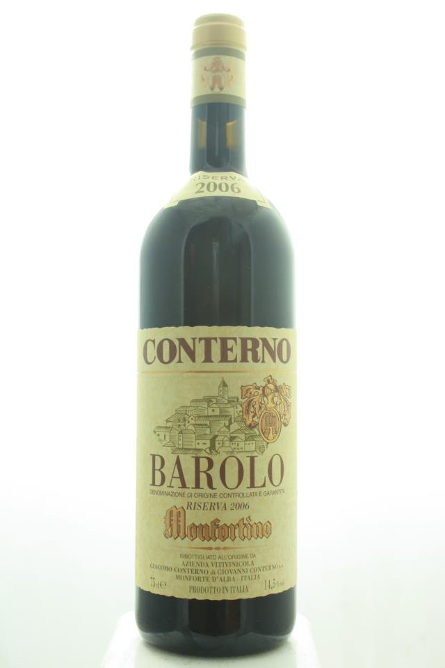 Giacomo Conterno Barolo Riserva Monfortino 2006